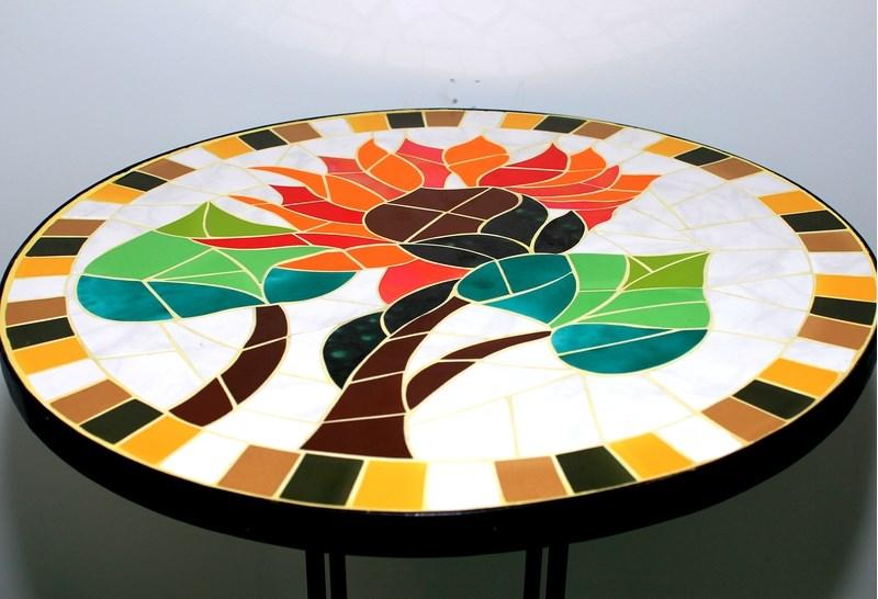 artesan a en vidrio policromia vitrales y mosaicos On artesanias en vidrio mosaico